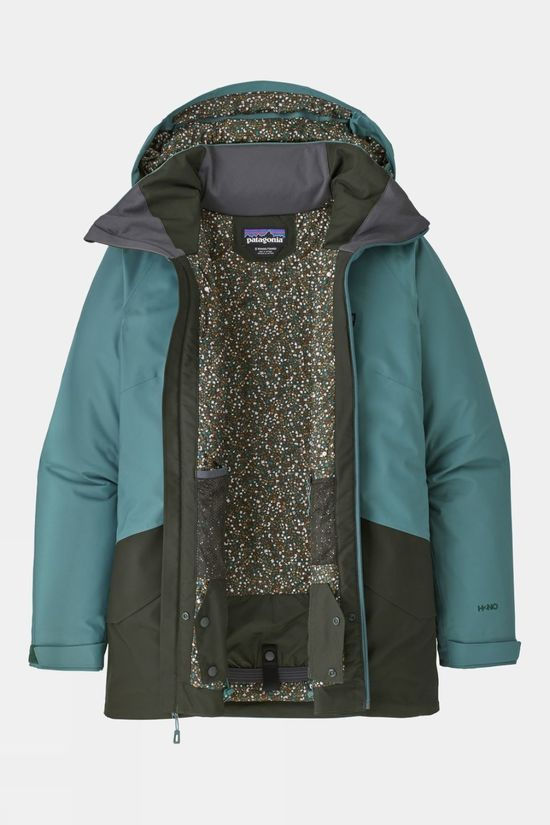 Patagonia Women's Insulated Snowbelle Jacket Regen Green