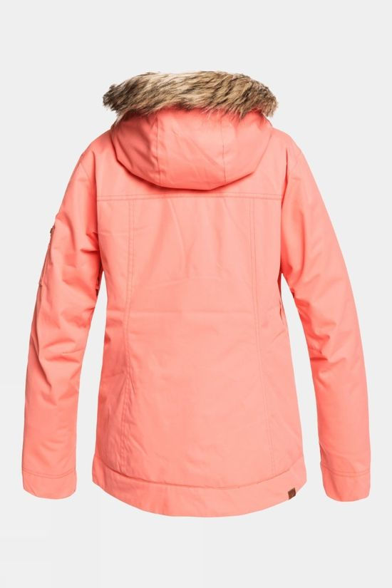 Roxy Womens Meade Jacket Fusion Coral