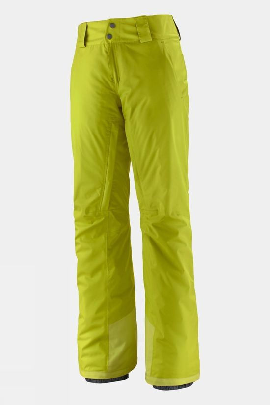 Patagonia Women's Insulated Snowbelle Pants Chartreuse