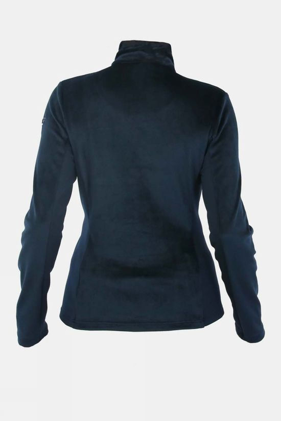 Degre 7 Womens Peps Full Zip Fleece Dark Blue