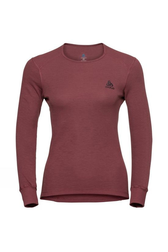 Odlo Warm Baselayer Shirt Roan Rouge