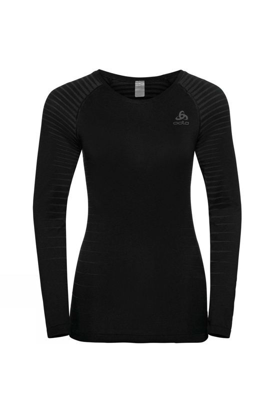 Odlo Womens Performance Light LS Crew Neck Black