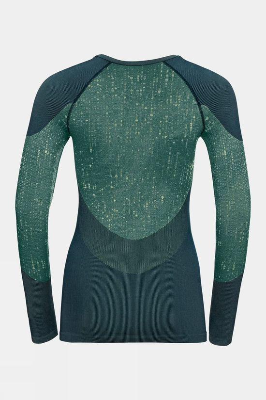 Odlo Womens Blackcomb Baselayer Top Submerged