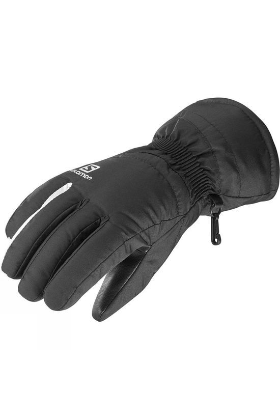 Salomon Womens Force Glove Black/White