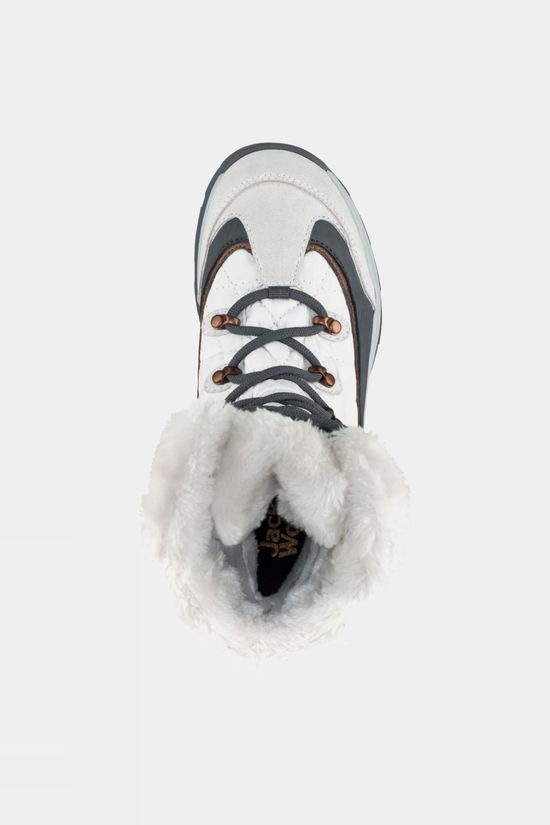 Jack Wolfskin Womens Aspen Texapore High Winter Boot White / Silver