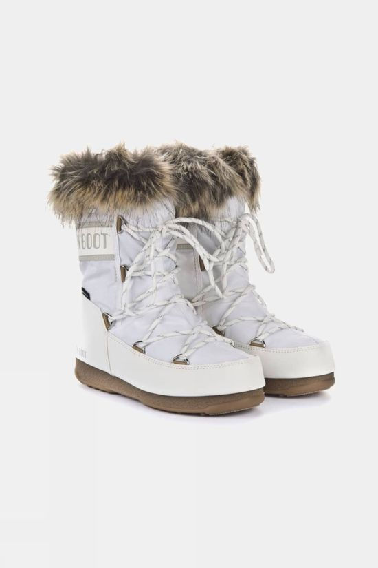 Moon Boots Women's Monaco Low WP 2 Boot White