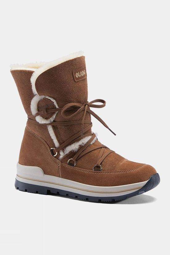 Olang   Women's Tanya Snow Boot Cuoio