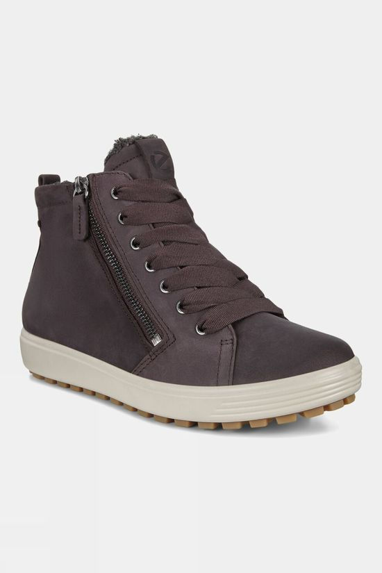 Ecco Womens Soft 7 Tred Nubuck Boot Shale Oil Nubcuk