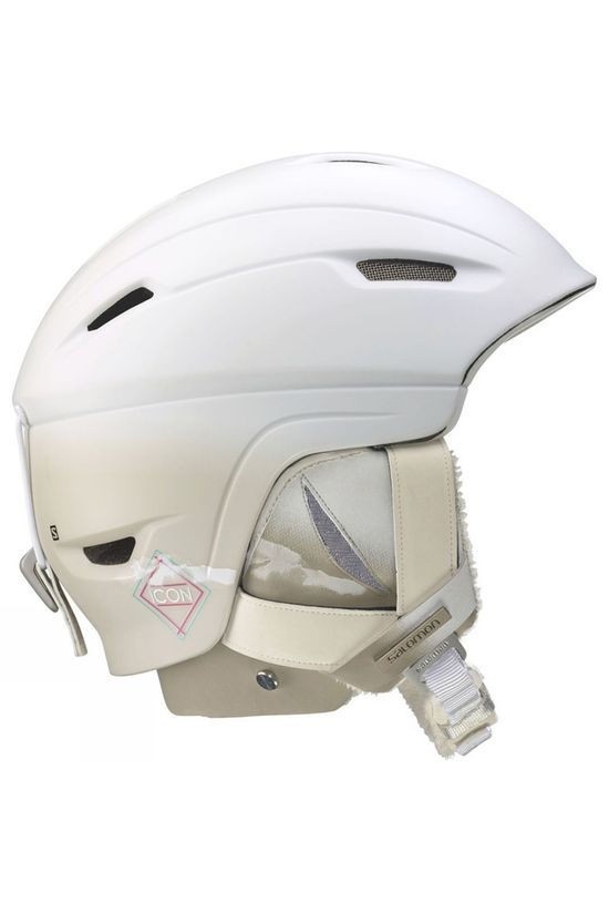 Salomon Womens Icon 4D Custom Air Helmet White Matte