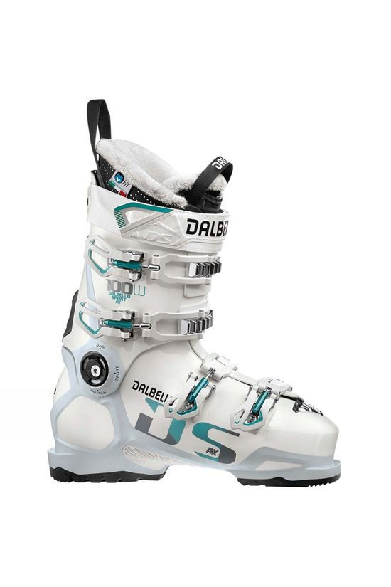 Dalbello Womens DS AX 100 Ski Boots White / Polar White