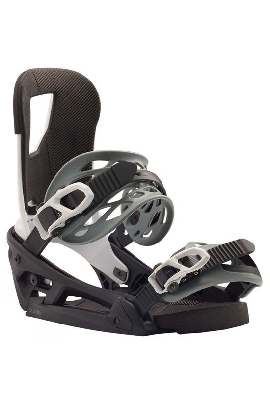 Burton Mens Cartel EST Snowboard Binding Black / White
