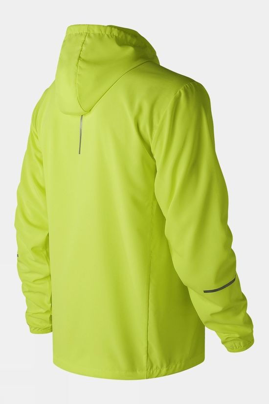 New Balance Men's Core Run Jacket Hi Lite