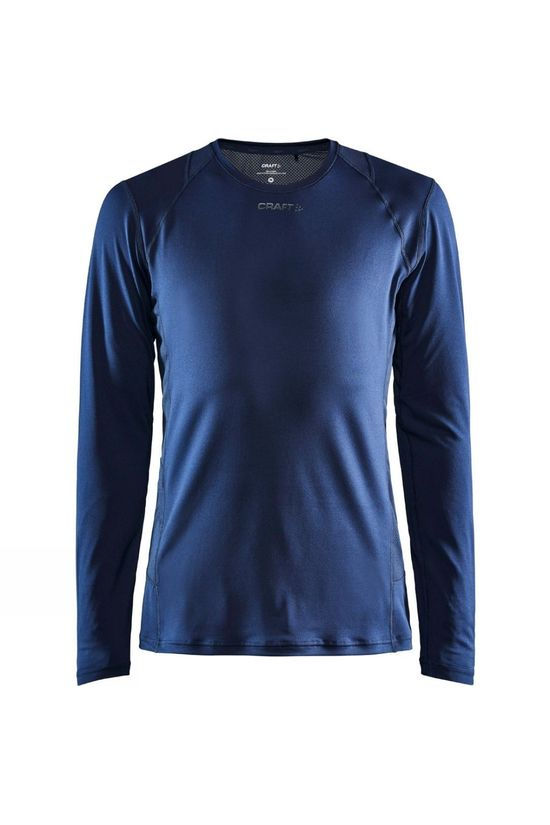 Craft Advance Essence Long Sleeve Tee Blaze