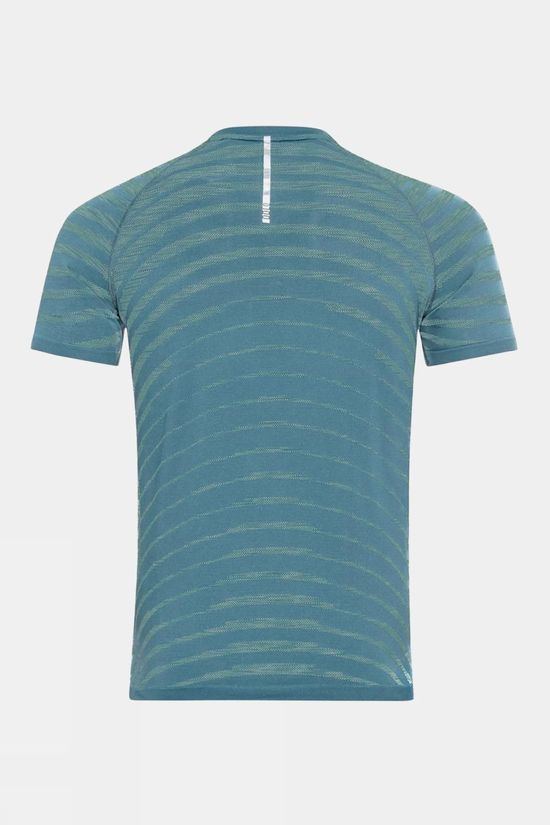 Odlo Blackcomb Pro T-Shirt S/S Crew Neck China Blue - Space Dye