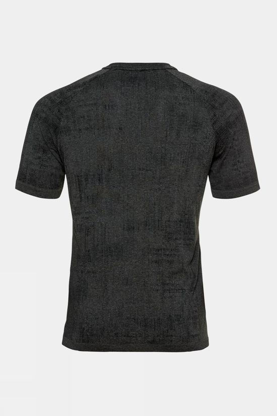 Odlo Mens Blackcomb Pro T-Shirt Black Melange