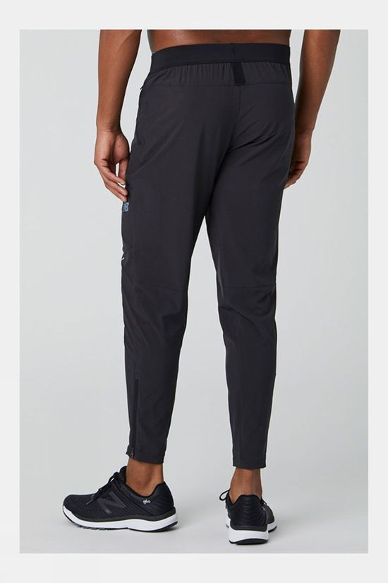 New Balance Men's Q Speed Run Crew Track Pant Black