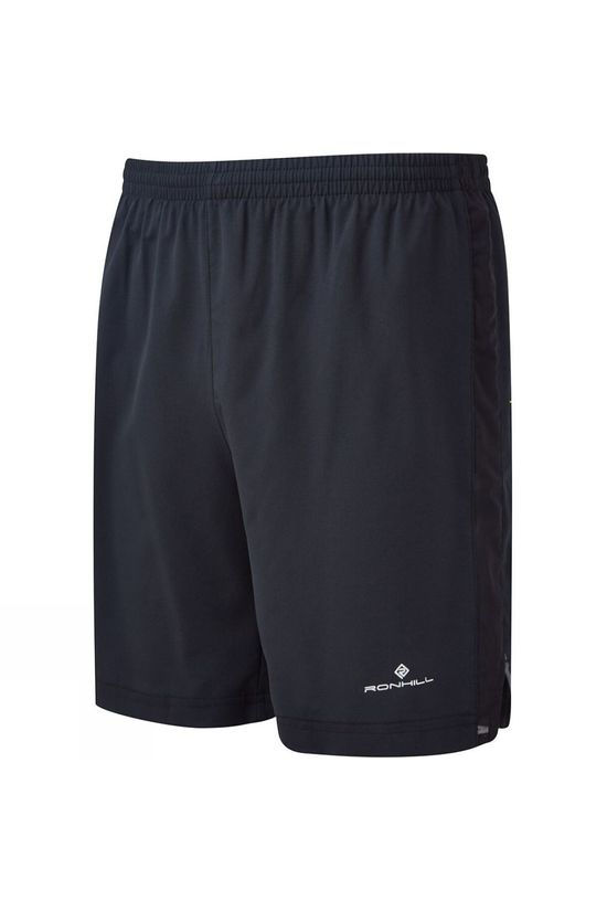 Ronhill Mens Momentum 7in Shorts All Black