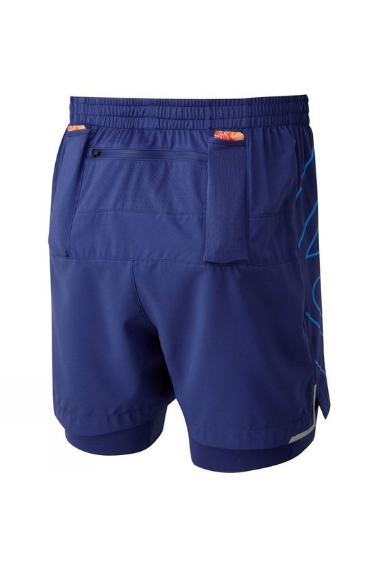 Ronhill Infinity Marathon Twin Short Mid Blue/Electric Blue