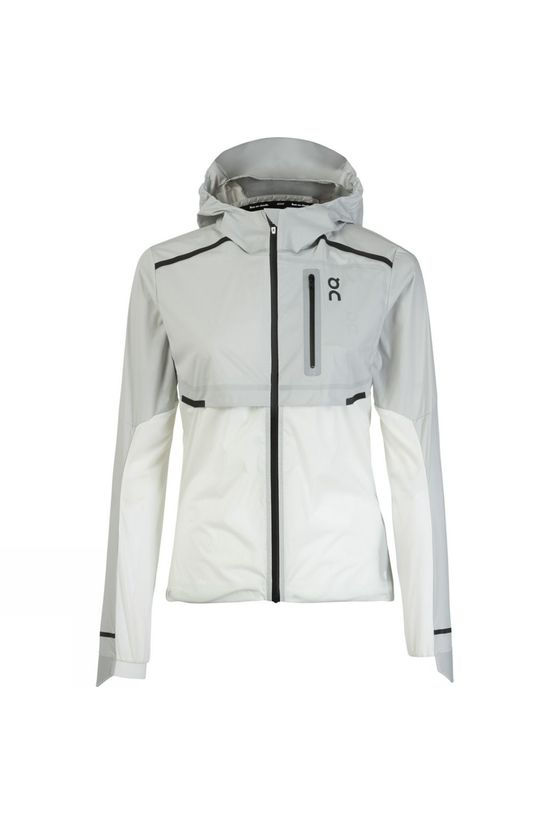 On Womens Weather Jacket Grey/White