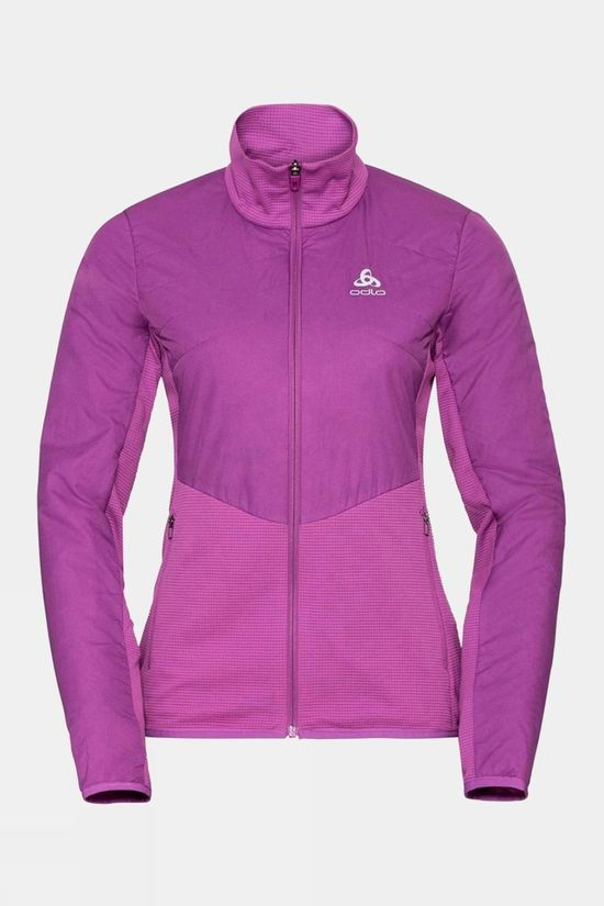 Odlo Womens Millennium S-Thermic Element Jacket Hyacinth Violet