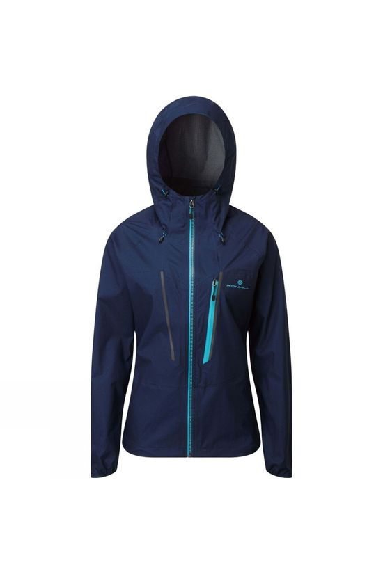 Ronhill Women's Tech Fortify Jacket Deep Navy/Spa Green