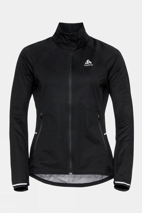 Odlo Womens Zeroweight Pro Warm Running Jacket Black