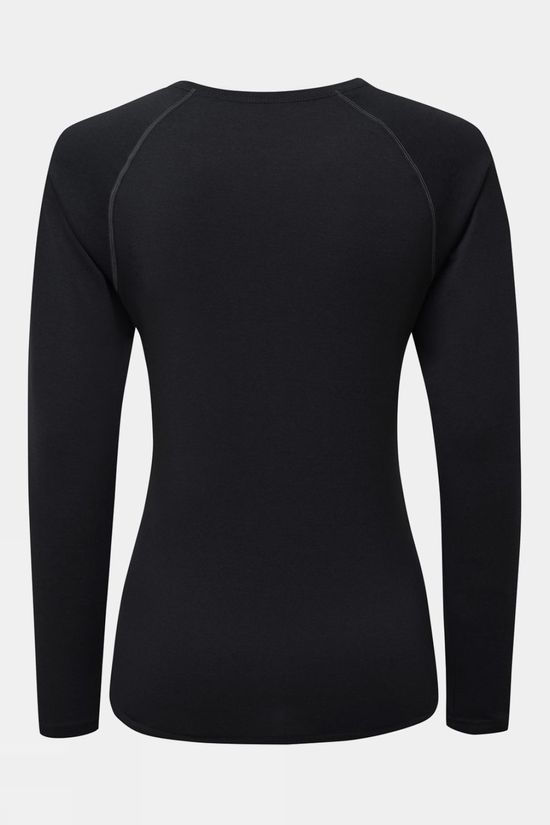Ronhill Womens Core L/S Tee All Black