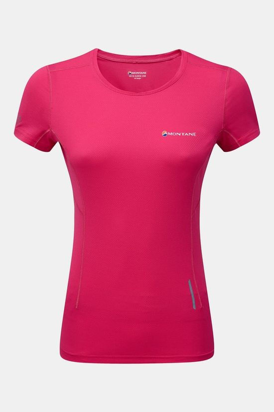 Montane Womens Claw T-Shirt Dolomite Pink