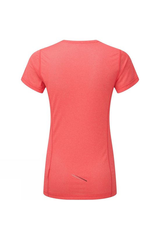 Ronhill Womens Stride Short Sleeve Tee Hot Pink/Charcoal