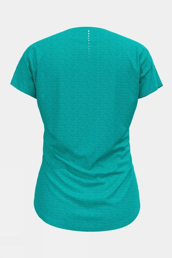 Odlo Womens Millennium Linencool T-Shirt  Jaded Melange