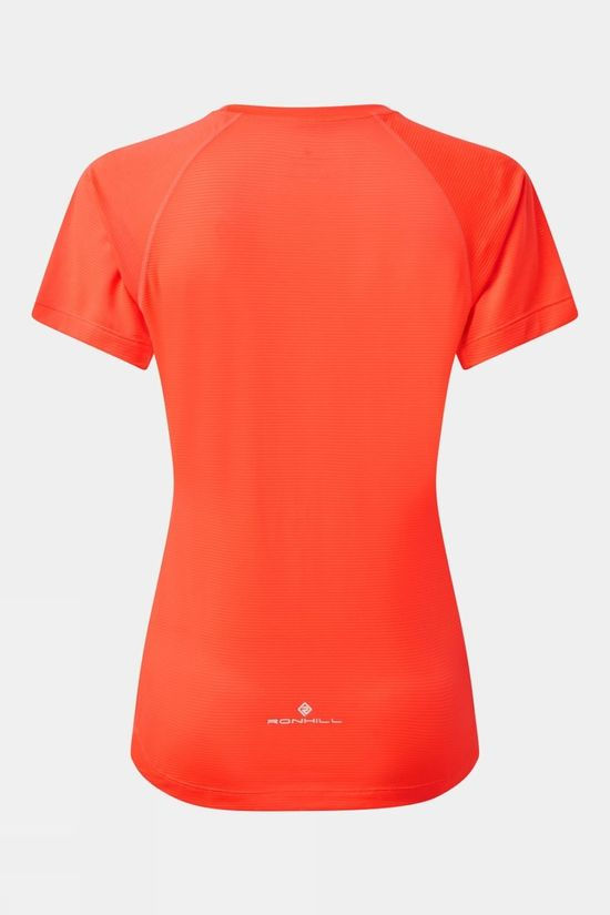 Ronhill Women's Tech Tee Hot Coral