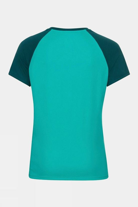 Odlo Womens Essential T-Shirt Jaded - Balsam