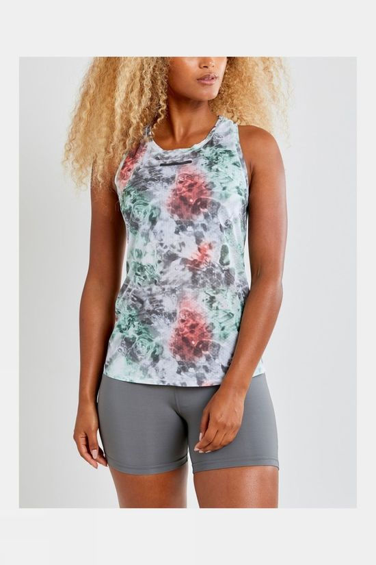Craft Women's Vent Mesh Singlet Multi Neo
