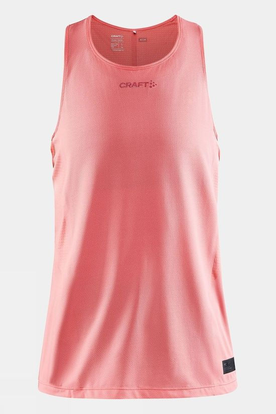 Craft Women's Pro Hypervent Singlet Coral