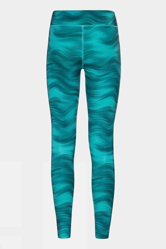Odlo Womens Essential Soft Print Tight Jaded - Graphic Ss21