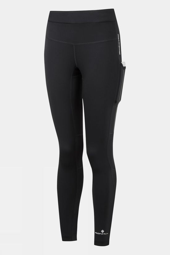 Ronhill Women's Tech Revive Stretch Tight All Black