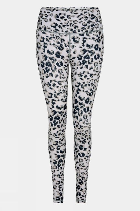 "Varley Womens Century Legging 2.0 25"" Grey Mixed Cheetah"
