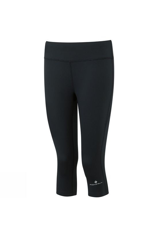 Ronhill Womens Everyday Run Capris All Black