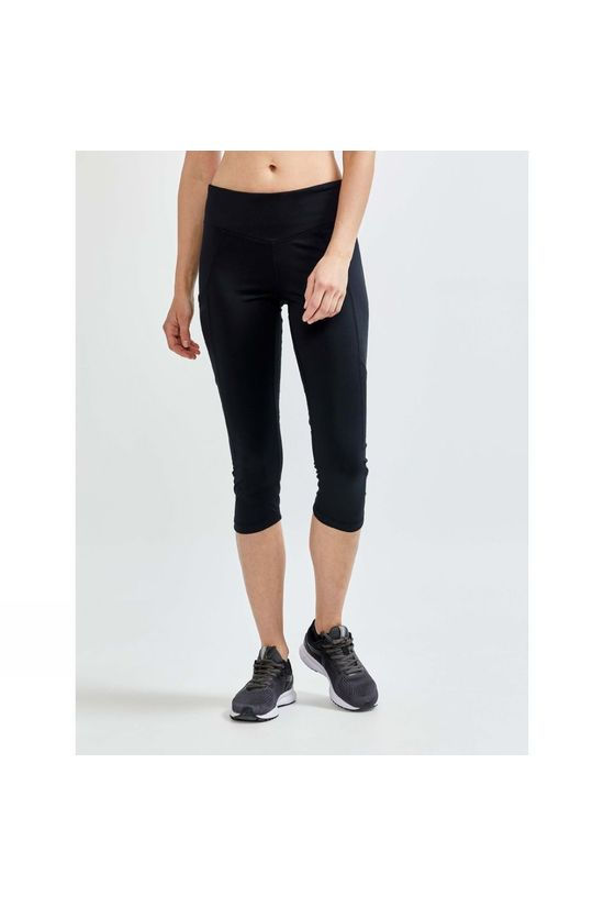 Craft Womens Advance Essence Capri Tights  Black