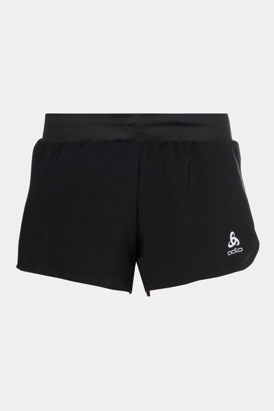 Odlo Womens Zeroweight 3inch 2-in-1 Shorts Black - Siesta