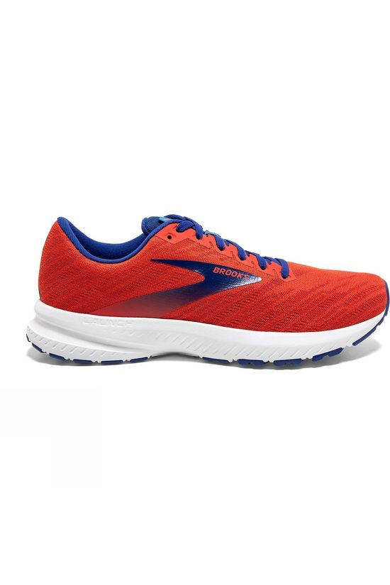 Brooks Mens Launch 7 Cherry/Red/Mazarine