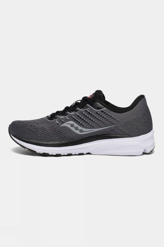 Saucony Mens Ride 13 Charcoal/Black