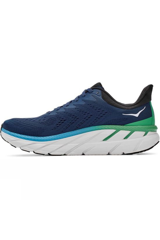 Hoka One One Men's Clifton 7 MOONLIT OCEAN / ANTHRACITE