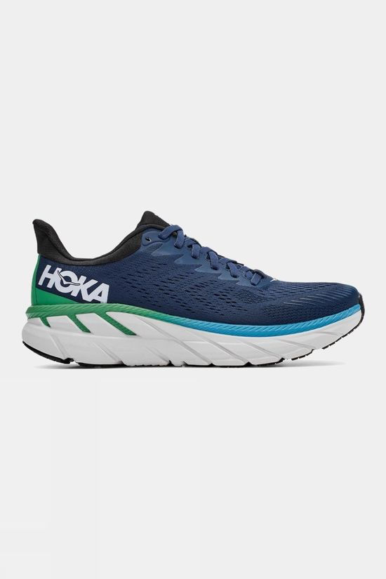 Hoka One One Men's Clifton 7 Wide Moonlit Ocean/Anthracite