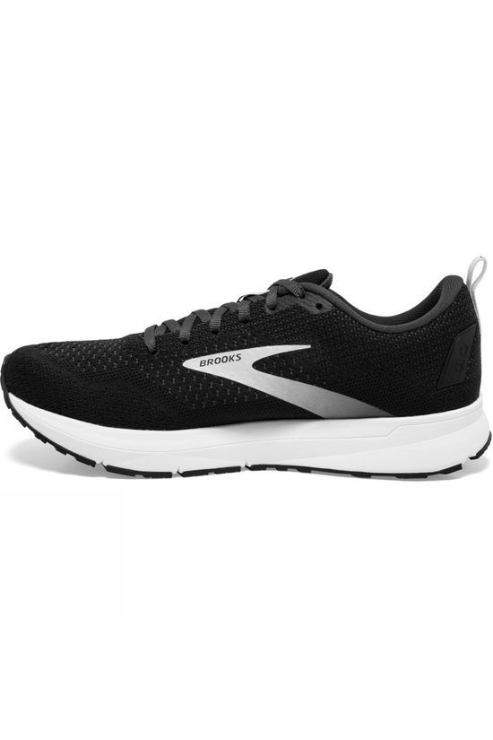 Brooks Men's Revel 4 Black/Oyster/Silver