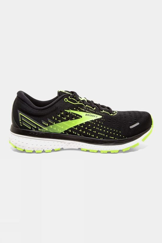 Brooks Men's Ghost 13 Wide Black/Nightlife/White