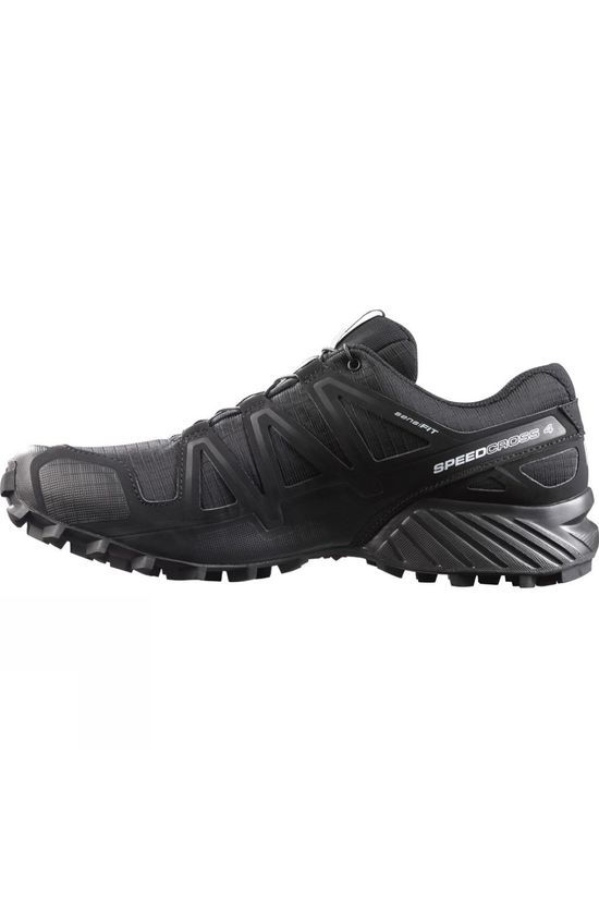 Salomon Men Speedcross 4 Shoe Black/Black/Black Metallic