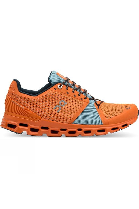 On Men's Cloudstratus Orange/Wash