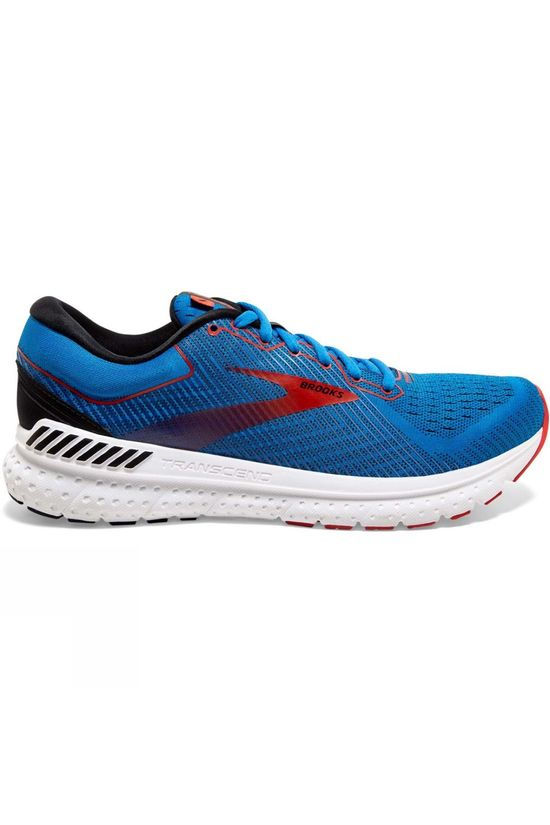 Brooks Men's Transcend 7 Mazarine/Black/Red
