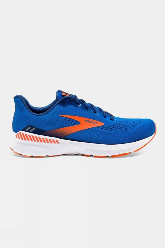 Brooks Mens Launch GTS 8 Blue/Orange/White